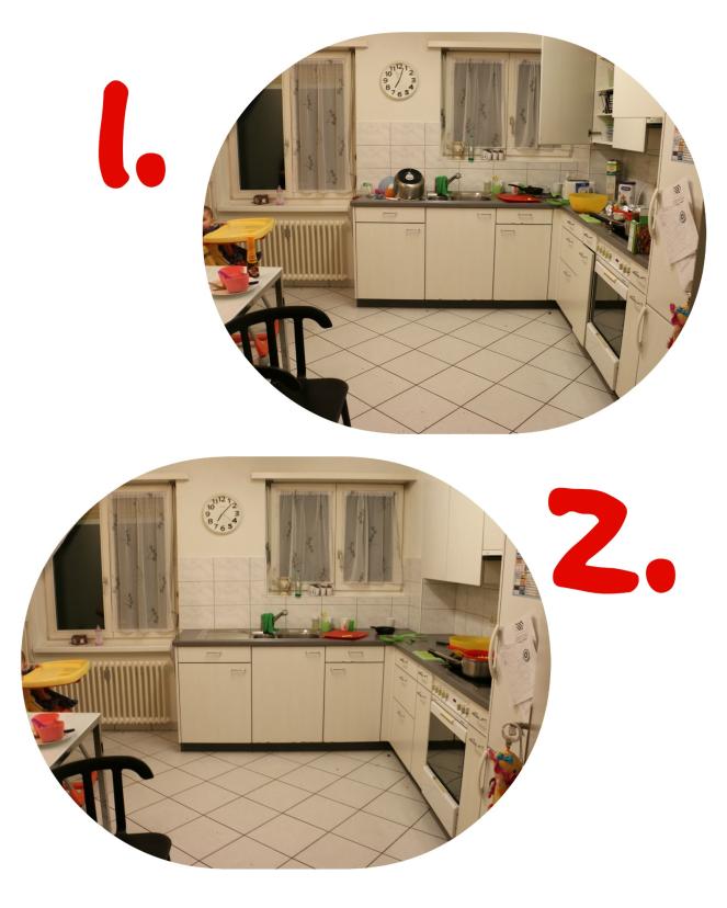 Küche Collage