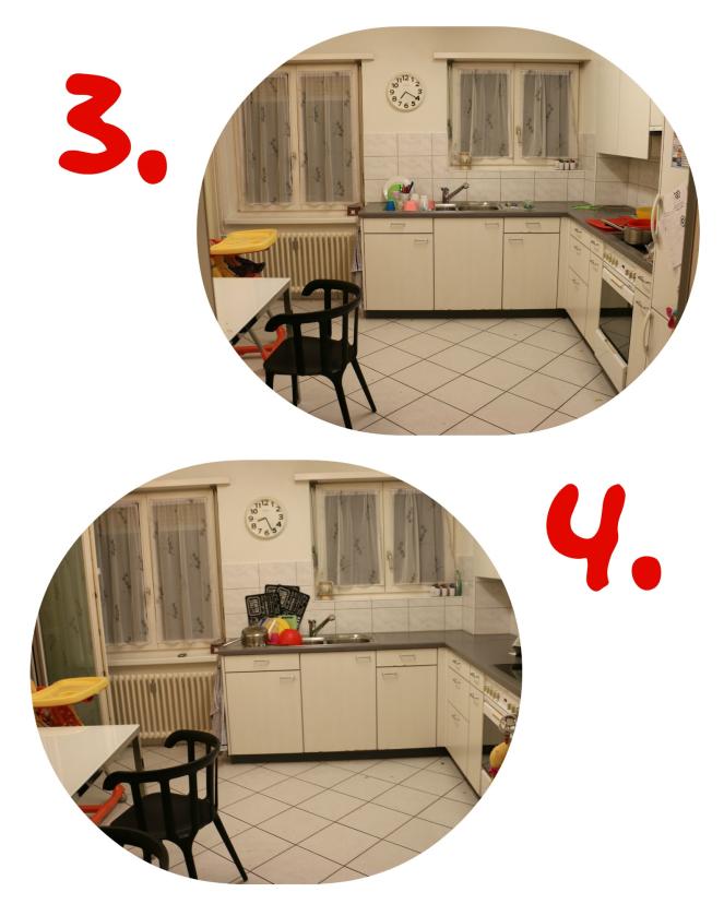 Küche collage1