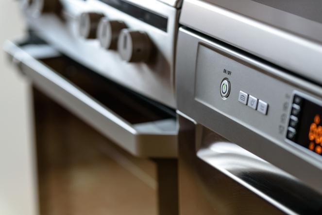 Household Appliances in modern kitchen